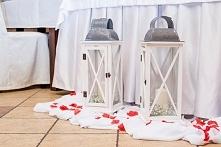 Dekoracja sali weselnej świecami w pięknych lampionach. Weddlove - Wrocław