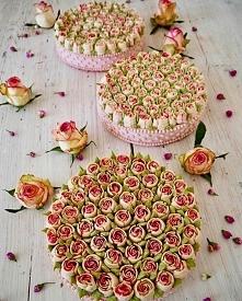 Ciasto wyglądające jak bukiet kwiatów!