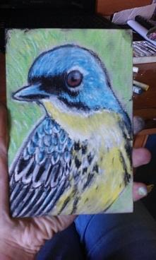 Ptaszek dla przyjaciółki.