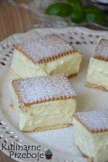 Napoleonka na herbatnikach – to szybkie i proste w wykonaniu ciasto bez piecz...