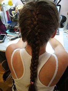 #fryzura #warkocz dobierany #cudo
