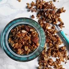 Domowa granola z siemieniem...