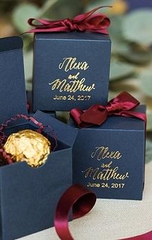 Portal Weselnapolska Prezenty dla gości weselnych, podziękowania za przybycie...