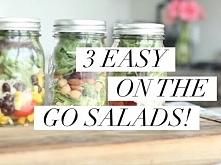 3 Easy On The Go Salads