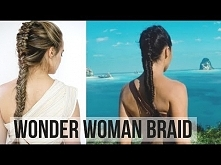 Wonder Woman Braid Hair Tut...