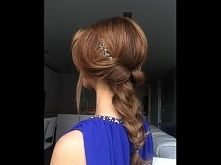 Romantic hairdo by Sarah An...