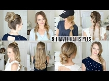 9 EASY Travel Hairstyles | ...
