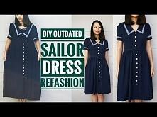 DIY: OUTDATED SAILOR DRESS ...
