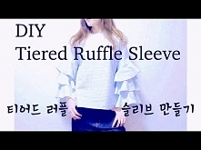 DIY Tiered Ruffle Sleeve To...