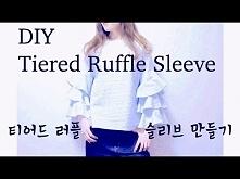 DIY Tiered Ruffle Sleeve To...