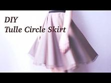 DIY Tulle Circle Skirtㅣmade...