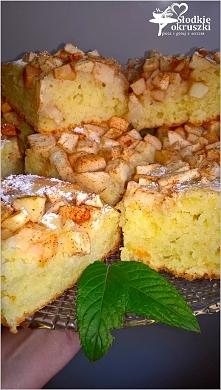 Ciasto z cynamonowym jabłki...