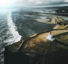 Czarna plaża w Dyrhólaey, I...