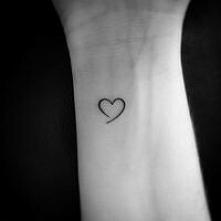 Serduszko tattoo