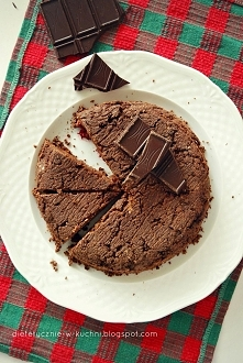 Czekoladowe ciasto z kaszy gryczanej