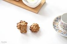 Przepis na najlepsze ciastka owsiane bez cukru. Dwie wersje - mniej i bardzie...