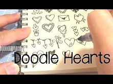 How to Draw different kinds of Heart Doodles | Doodle with Me