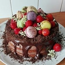 tort czekoladowo-ananasowy ...