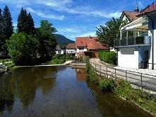 Słoneczny dzień w Oppenau.:...