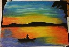 Zachód słońca. Inspirowane ...