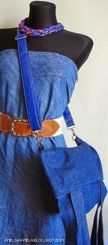 torebki z dżinsów Diy