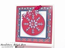 kartka świąteczna -rękodzieło