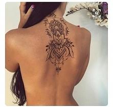 Piękny tattoo