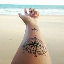 tatuaż podróżnika