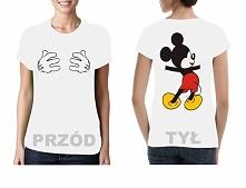 Koszulki dwustronne  Koszulka Mickey Mouse