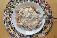 Oszukana carbonara według Białej Moreli, czyli szybki obiad w 10 min :D
