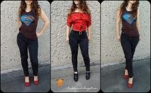 Przeróbka jeansów DIY