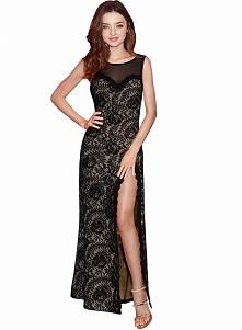 Cudowna długa koronkowa suknia. Kliknij w zdjęcie i zobacz gdzie kupić! :)