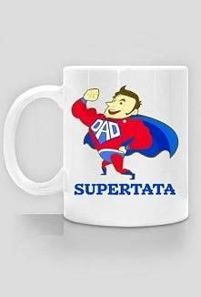 Prezent na Dzień Ojca kubek Supertata