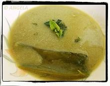 Zupa krem z bobu (po przepis, kliknij na fotografię)