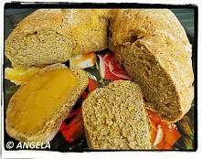 Razowy wieniec (chleb) z ziemniakiem i marchwią  - (po przepis, kliknij na fotkę)