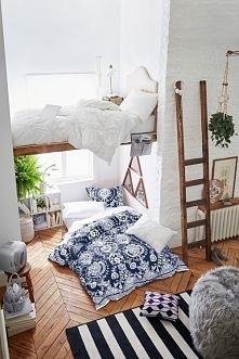 łóżko piętrowe ;o