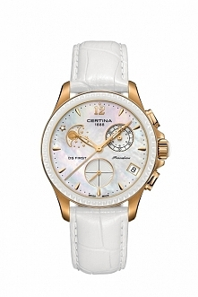 Certina C030.250.36.106.00 niepowtarzalny zegarek w oryginalnym stylu z diame...