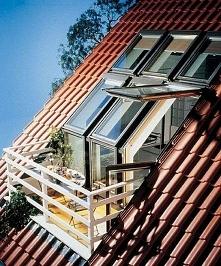 niewielki balkonik
