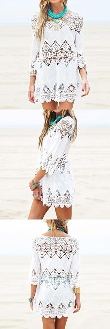 Lekka i przewiewna sukienka, idealna na plażę