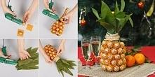 SZAMPAN lub WINO opakowane w kształcie ANANASA:  1.Wybierz ulubionego szampan...