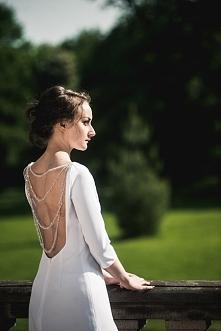 """Suknia ślubna w nowoczesnej odsłonie, z kolekcji """" Mirror of soul"""" ..."""