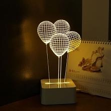 Co powiecie na lampkę nocną w formie baloników?