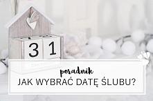 """Jeśli jeszcze nie wybraliście daty ślubu - zajrzyjcie na bloga! Dodatkowo mam kilka propozycji """"ładnych"""" terminów na ślub w 2018 i 2019 :)"""
