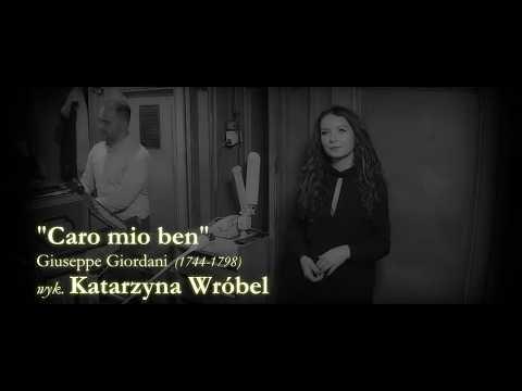 """Katarzyna Wróbel - ,, Caro mio ben"""" - Oprawa wokalna ślubu"""