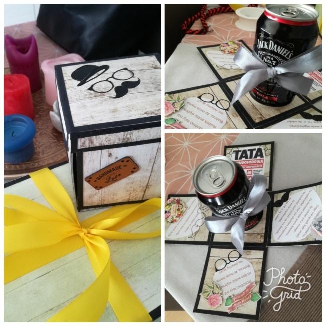 Exploding box na dzień ojca :)