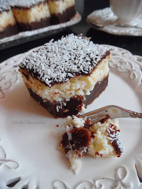 Niebiańskie Ciasto Czekoladowe z Kokosem (Ciasto a'la Bounty)