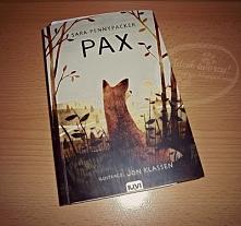 """Na blogu recenzja pięknej i dającej do myślenia powieści """"Pax"""", z m..."""