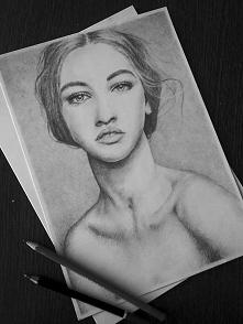 Nowy portret mojego autorstwa. Rysuję portrety i inne na zamówienie. Zaprasza...
