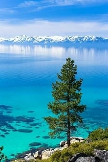 Jezioro Tahoe w USA :)