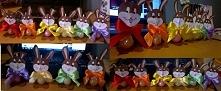 Zające Wielkanocne - Lizaki :)